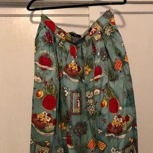 Dresses & Skirts - Frida Kahlo inspired A-line skirt.